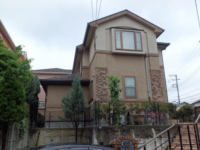 神奈川県都筑区 外壁塗装・屋根塗装ビフォア写真