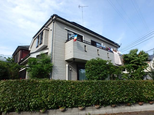 東京都八王子市 外壁塗装・屋根塗装ビフォア写真
