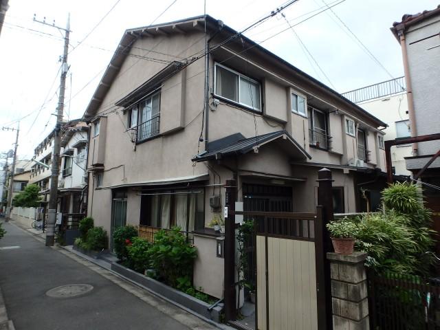 東京都大田区 外壁塗装ビフォア写真