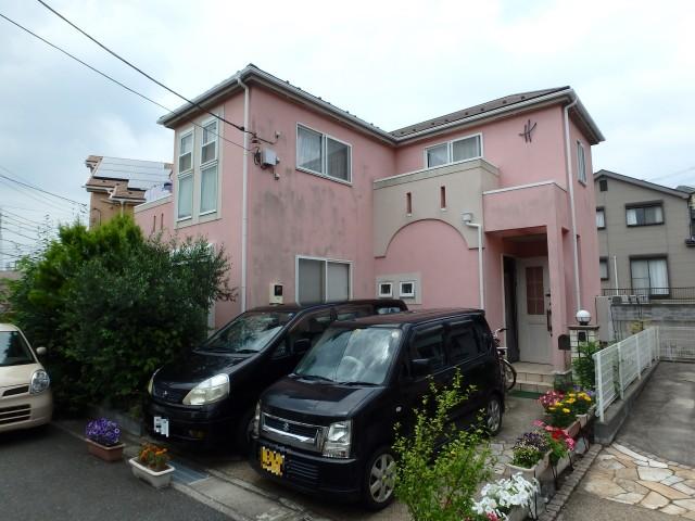 神奈川県横須賀市 外壁塗装・屋根塗装・水切り取付ビフォア写真