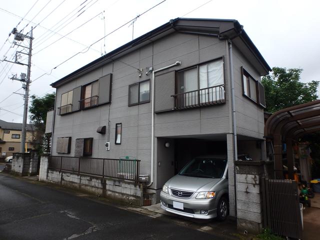 埼玉県上尾市 外壁塗装・屋根塗装・シーリング工事ビフォア写真