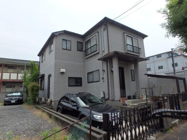 東京都江戸川区 外壁塗装・屋根塗装・シーリング工事ビフォア写真