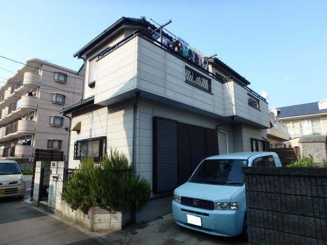 埼玉県鶴ヶ島市 外壁塗装・シーリング工事ビフォア写真