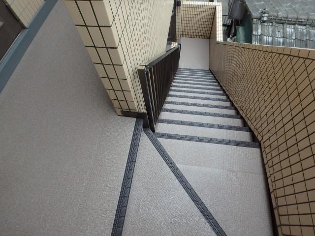 千葉県野田市 長尺シート工事・鉄部塗装・雑工事アフター写真
