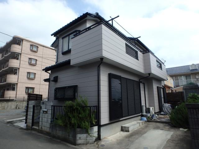 埼玉県鶴ヶ島市 外壁塗装・シーリング工事アフター写真
