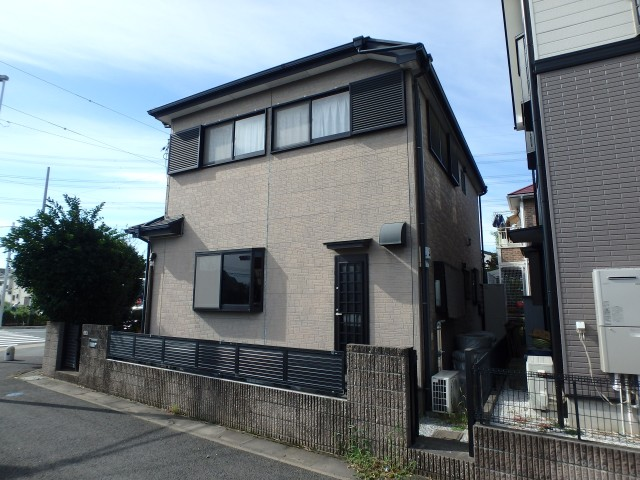 埼玉県桶川市 外壁塗装・屋根塗装・シーリング工事ビフォア写真