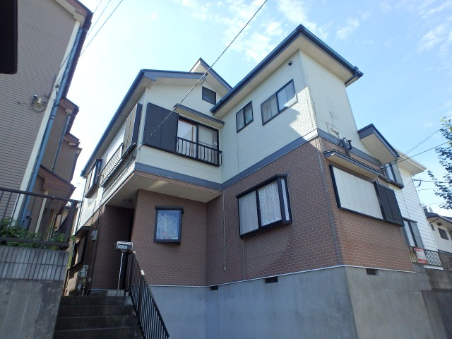 千葉県千葉市緑区 外壁塗装・屋根塗装・シーリング工事ビフォア写真
