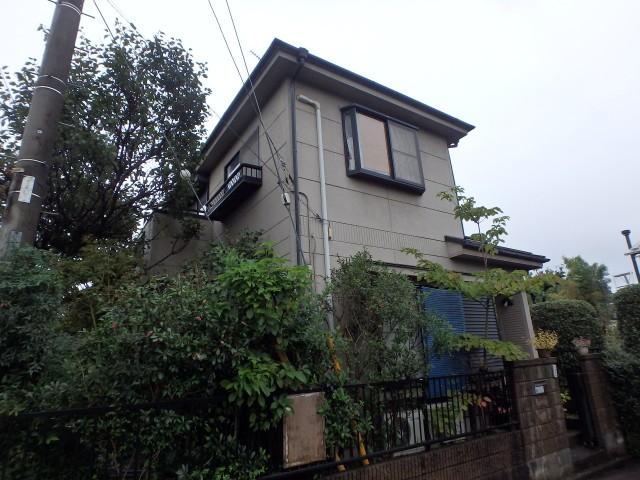 埼玉県日高市 外壁塗装・屋根塗装ビフォア写真