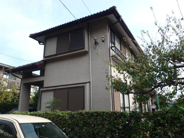 神奈川県厚木市 外壁塗装・屋根塗装ビフォア写真
