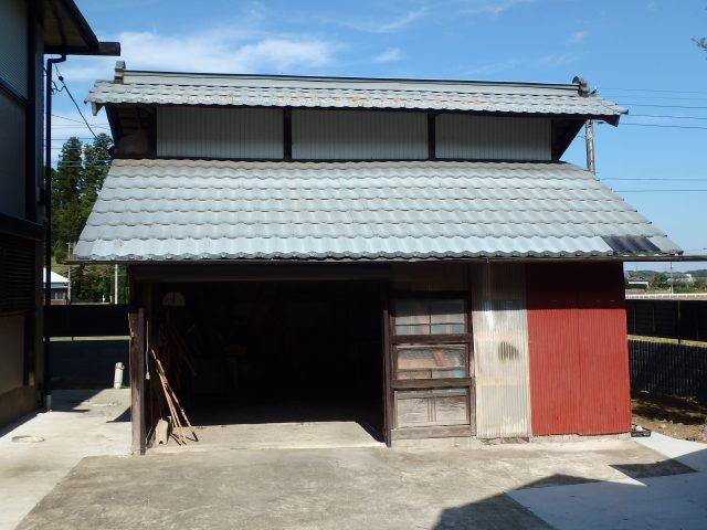 千葉県市原市 外壁塗装・屋根塗装・納屋塗装ビフォア写真