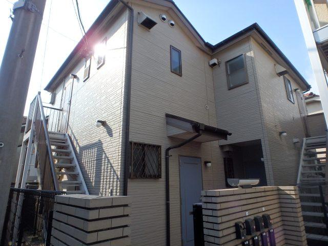 東京都大田区 外壁塗装・屋根塗装・シーリング工事ビフォア写真