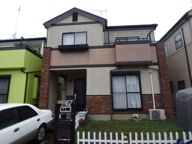 埼玉県加須市 外壁塗装・屋根塗装ビフォア写真