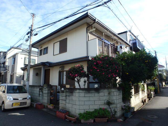 千葉県船橋市 外壁塗装ビフォア写真
