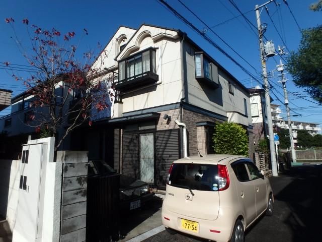 東京都西東京市 外壁塗装・屋根塗装ビフォア写真