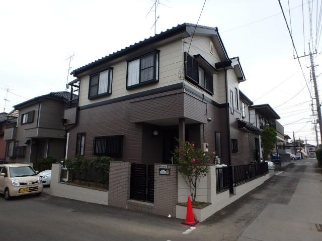 埼玉県上尾市 外壁塗装・シーリング工事アフター写真