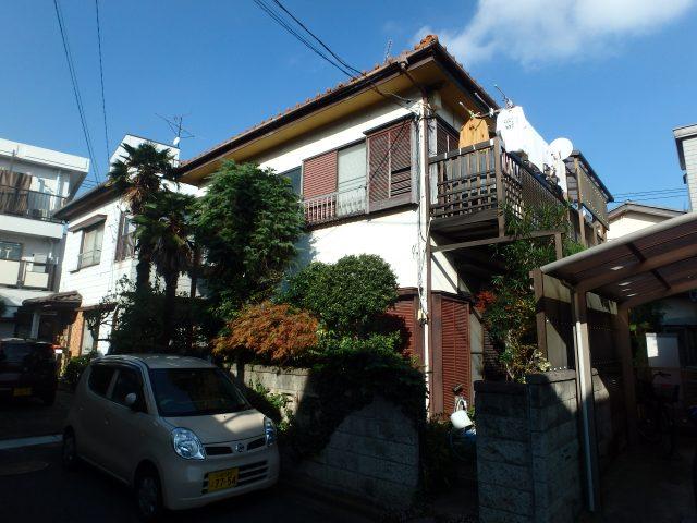 千葉県松戸市 外壁塗装・大工工事ビフォア写真