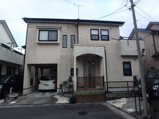 埼玉県北葛飾郡松伏町 外壁塗装・屋根塗装ビフォア写真