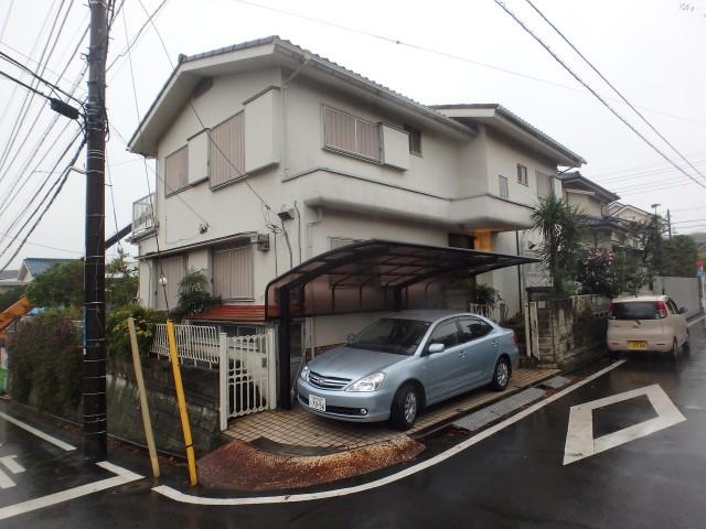 神奈川県横浜市磯子区 外壁塗装・屋根塗装ビフォア写真