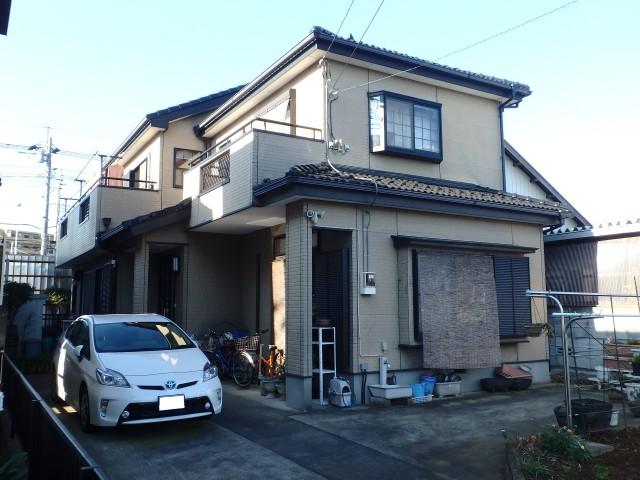 埼玉県越谷市 外壁塗装ビフォア写真