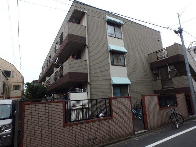 東京都大田区 外壁塗装・鉄骨塗装ビフォア写真