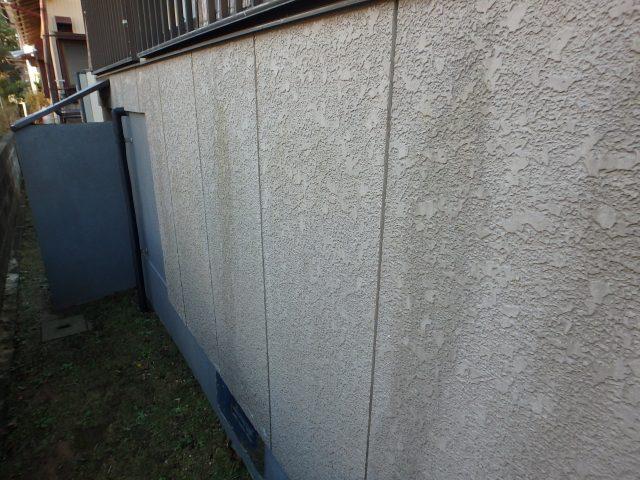 千葉県いすみ市 外壁塗装ビフォア写真