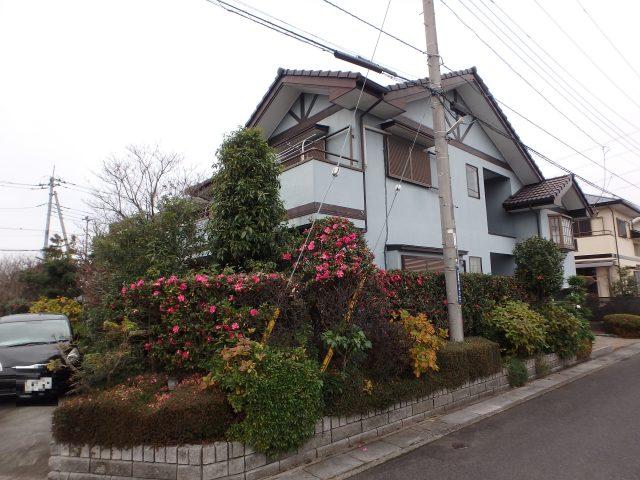埼玉県久喜市 外壁塗装・屋根塗装ビフォア写真