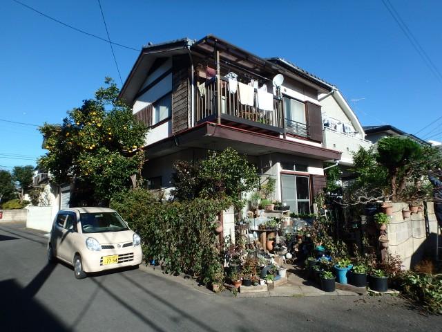 東京都三鷹市 外壁塗装ビフォア写真